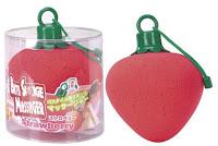 Esponja vibradora con forma de fresa