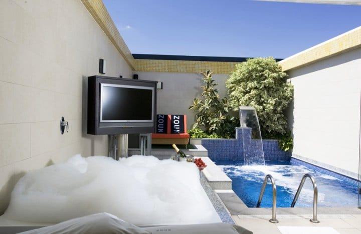 Zouk hotel un hotel para no dormir - Suite con piscina privada madrid ...