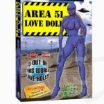 Muñeca hinchable del amor Área 51, ver para creer