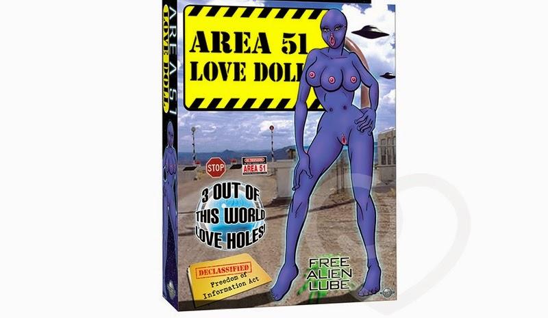 Muñeca hinchable Pipedream Área 51 love doll