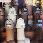 Foto de Davytedave: Oh, San Francisco. Penes de goma caricaturizados