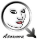 Logotipo original de asexora