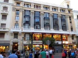 Fachada del edificio de la Calle Mayor número 4 de Madrid