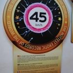 Record Guinnes de la velocidad a la que se eyacula el semen: 45Km/h