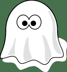 Dibujo de un fantasma