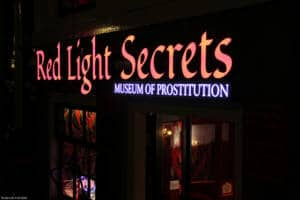 Fachada del museo Red Light Secrets