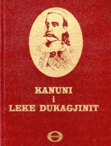 Portada del libro de kanun con el retrato de Leke
