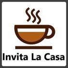 Logo del podcast Invita la Casa: silueta de una taza de café