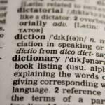 Diccionario sexual, definiendo términos
