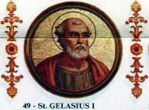 Representación de un icono de la Basílica de San Pablo de Gelasio I