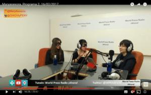 Captura de youtube del episodio 2 de Maryasexora en WPRA, titulado: Entrevista a Chichi y Peny