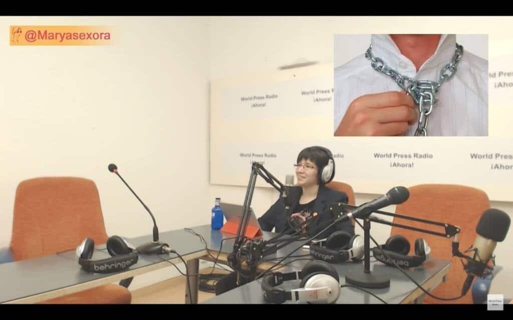 Captura de youtube del episodio 7 de Maryasexora en WPRA, titulado: Sexo Ciberseguro
