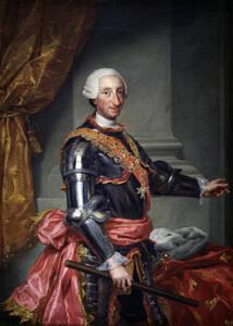 Retrato en óleo de Carlos III