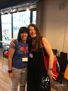 Foto con Valérie Tasso