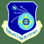 """Emblema de los laboratorios Wright, ideólogos de la """"bomba gay""""."""