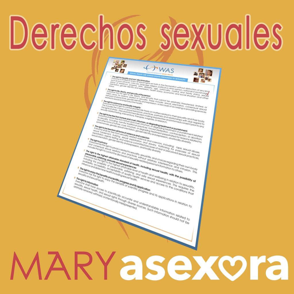 Derechos sexuales. MSX010 del podcast