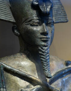 Estatua de Osiris en el Museo Nacional de Antigüedades de Leiden